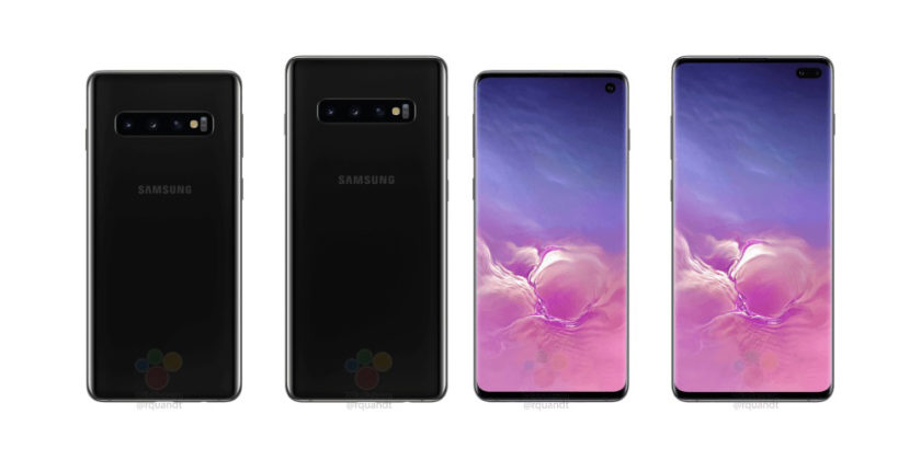 Samsung Galaxy S10 leak shows hole-punch display cutout, triple cameras