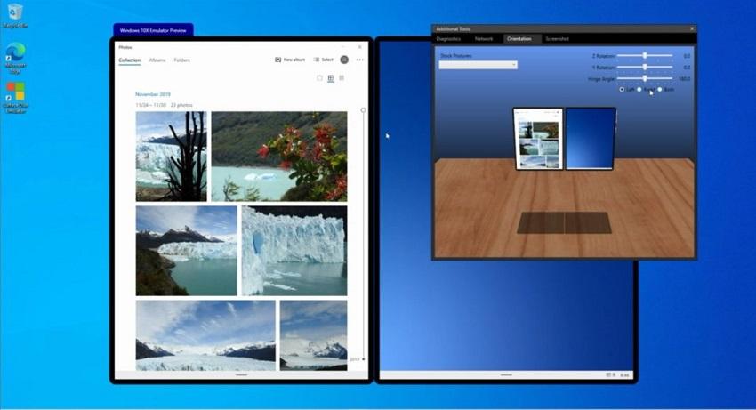 Microsoft releases Windows 10X dual-screen emulator