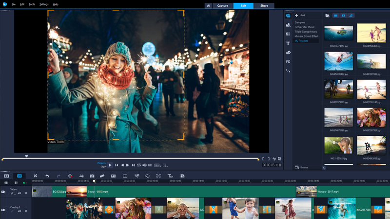 VideoStudio Ultimate - video editing software for windows
