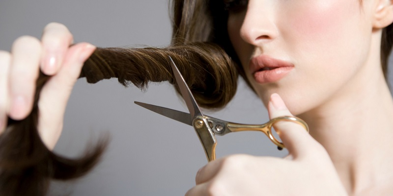 What Happens When You Cut Your Hair With Regular Scissors