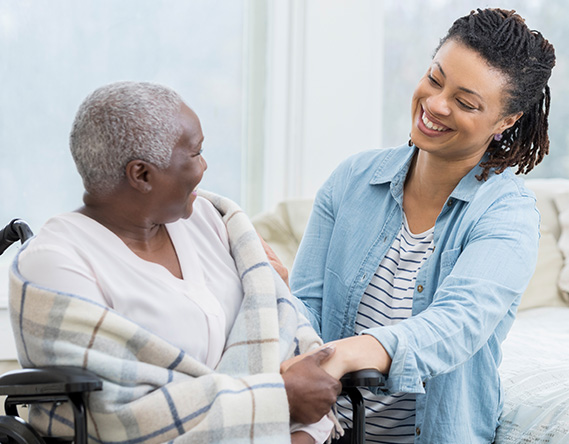 The Connecticut State Government Provides Home Care Services For The Elderly